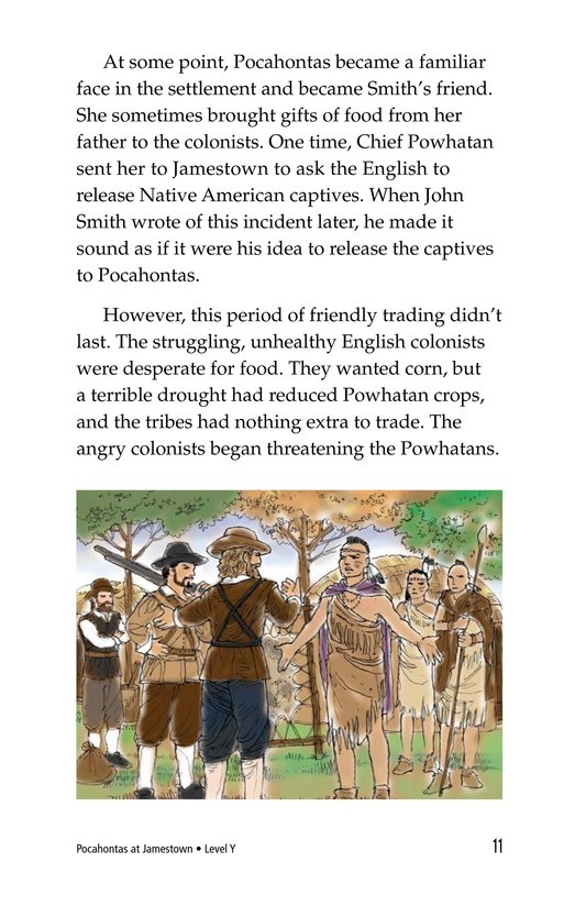 Book Preview For Pocahontas at Jamestown Page 11