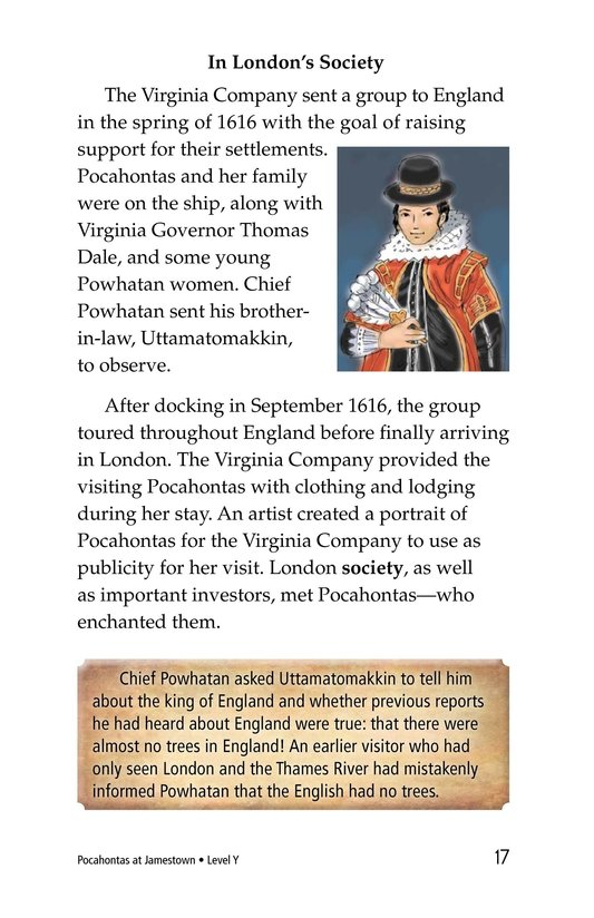 Book Preview For Pocahontas at Jamestown Page 17
