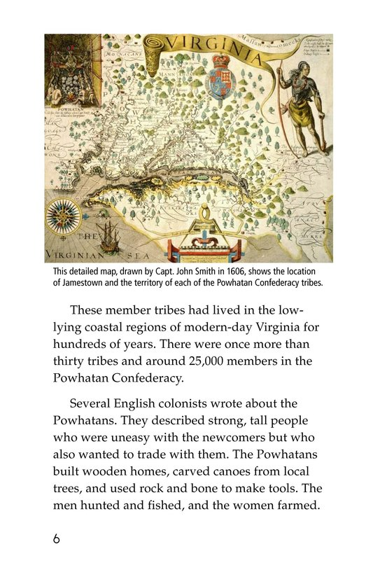 Book Preview For Pocahontas at Jamestown Page 6