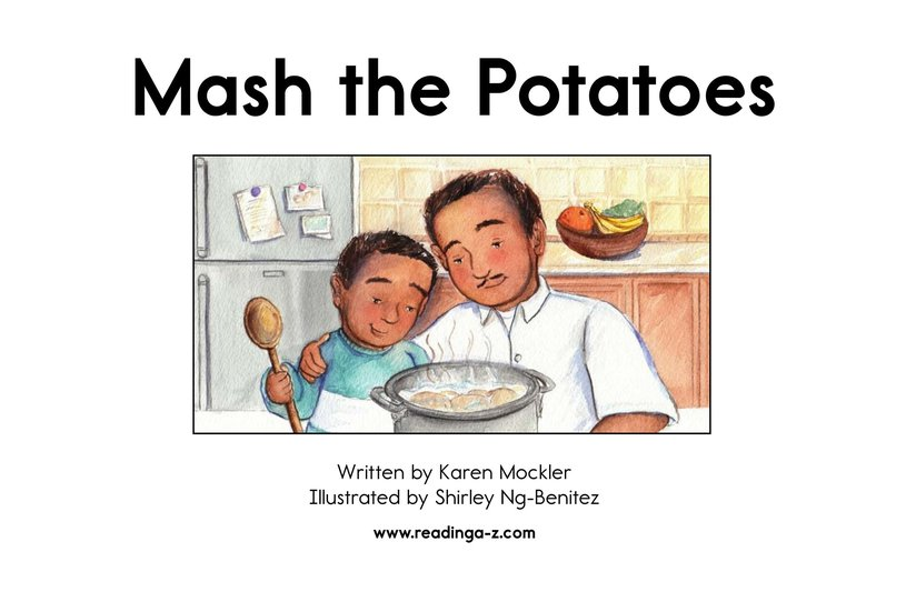 Book Preview For Mash the Potatoes Page 2