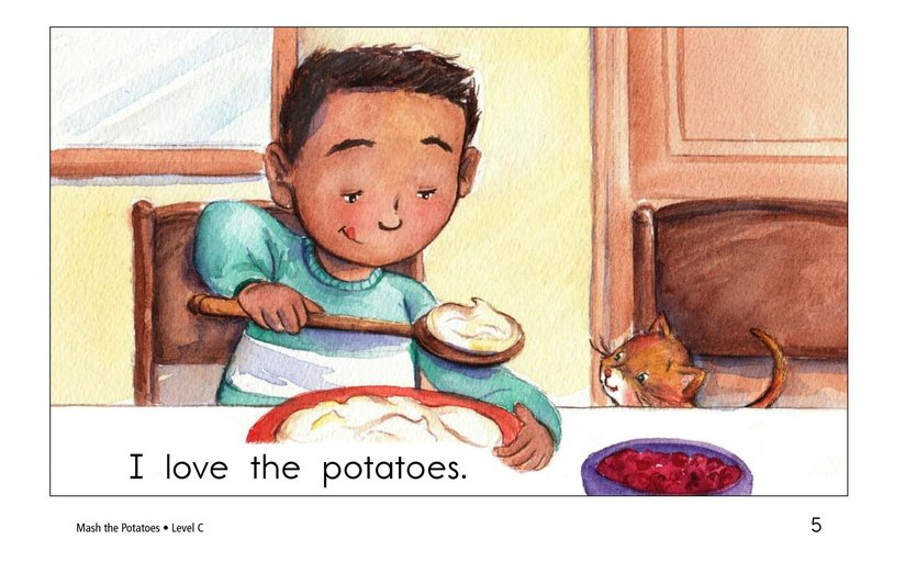 Book Preview For Mash the Potatoes Page 5