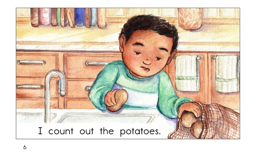 Book Preview For Mash the Potatoes Page 6