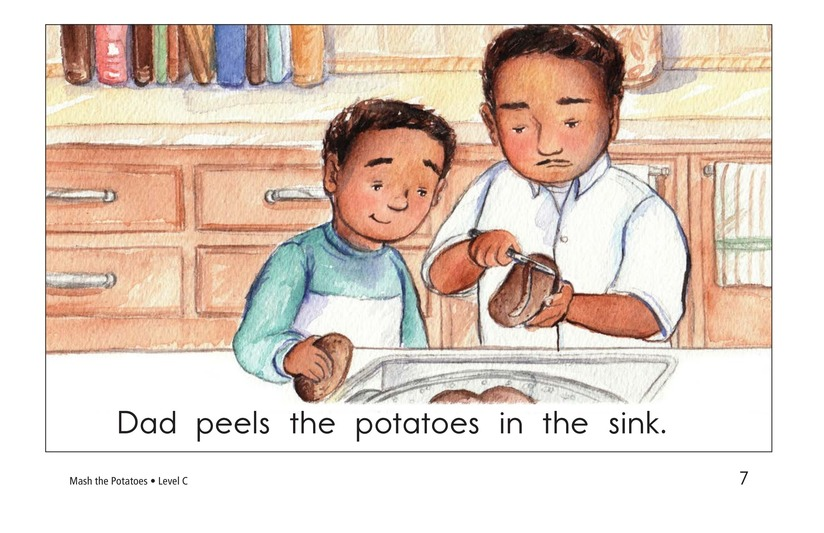 Book Preview For Mash the Potatoes Page 7