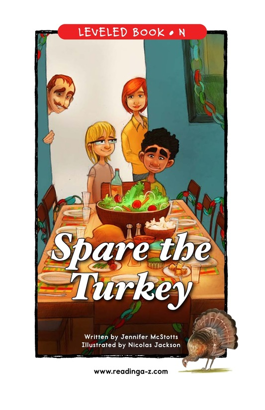 Book Preview For Spare the Turkey Page 1