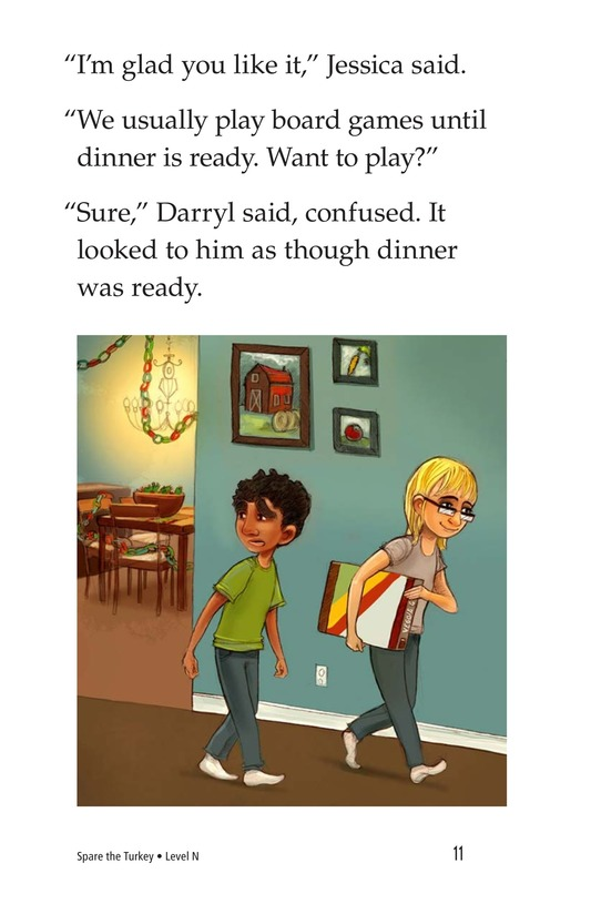 Book Preview For Spare the Turkey Page 11