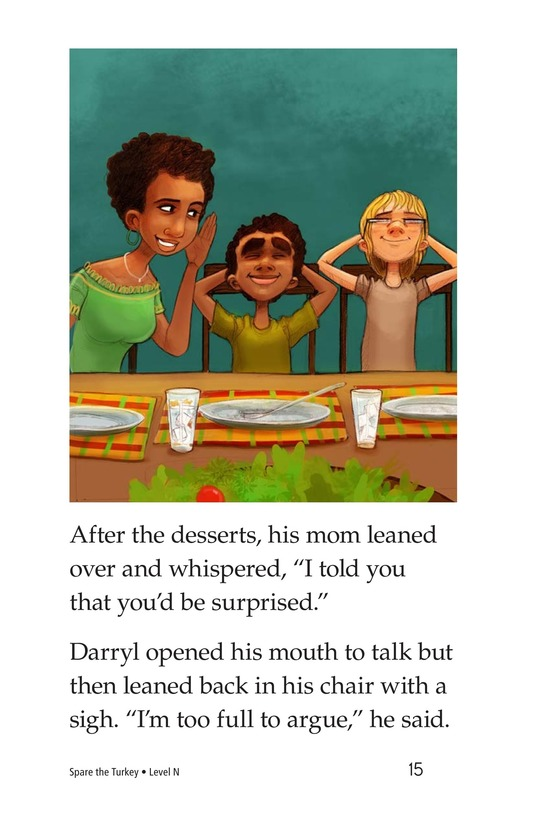 Book Preview For Spare the Turkey Page 15