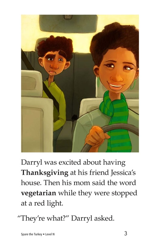 Book Preview For Spare the Turkey Page 3