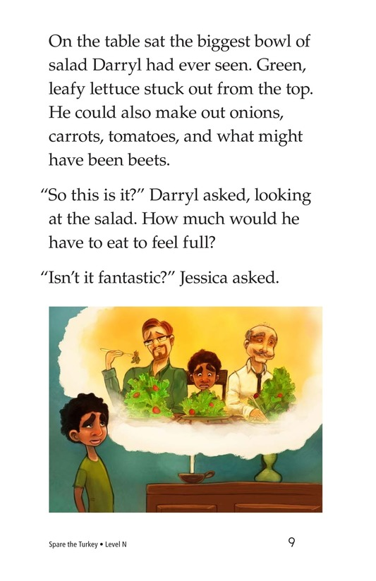 Book Preview For Spare the Turkey Page 9