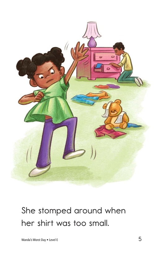 Book Preview For Dolly's Drama Queen Day Page 5