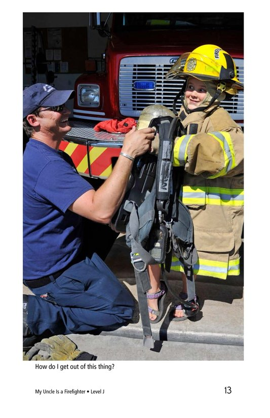Book Preview For My Uncle Is a Firefighter Page 13