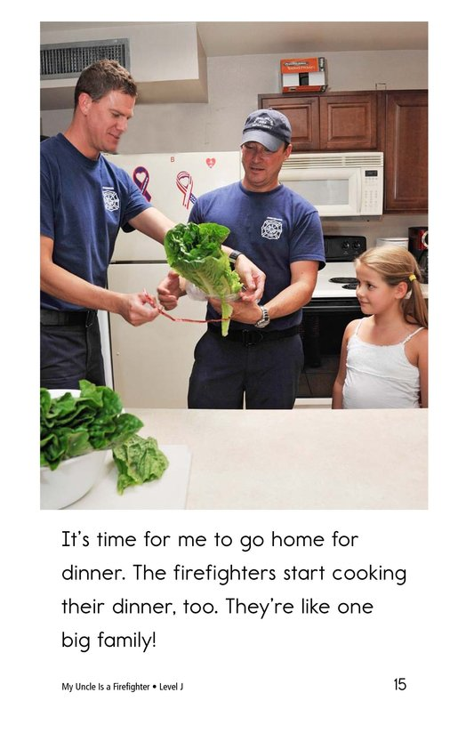 Book Preview For My Uncle Is a Firefighter Page 15