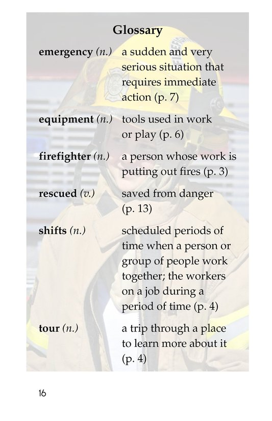 Book Preview For My Uncle Is a Firefighter Page 16