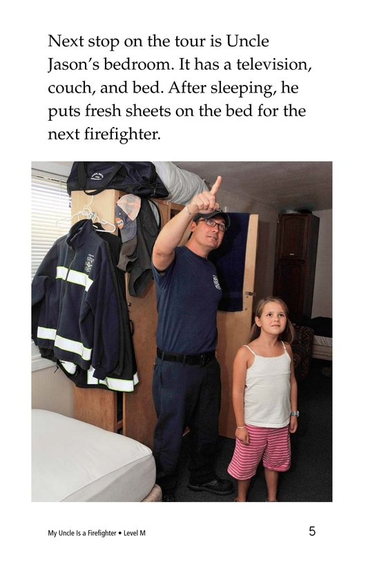 Book Preview For My Uncle Is a Firefighter Page 5