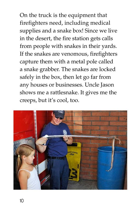Book Preview For My Uncle Is a Firefighter Page 10