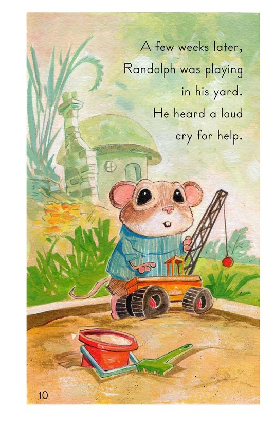Book Preview For Randolph and the Lion Page 10