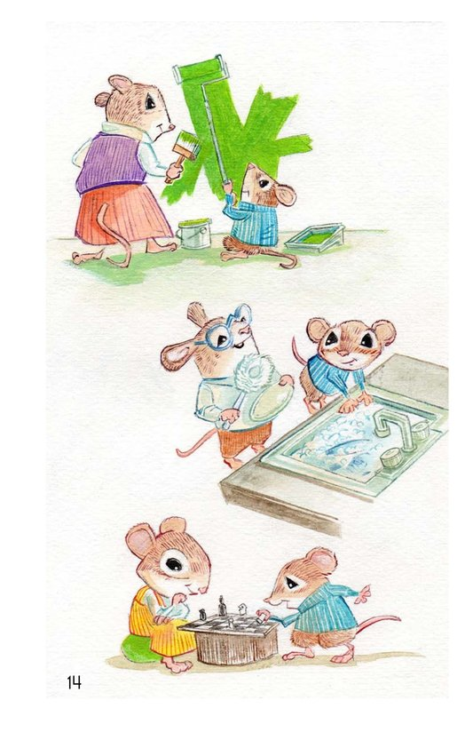 Book Preview For Randolph and the Lion Page 14