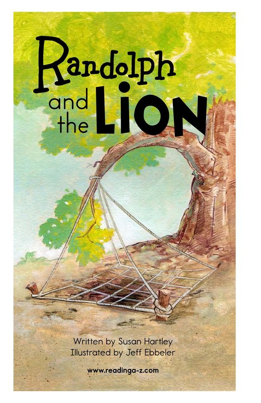 Book Preview For Randolph and the Lion Page 2