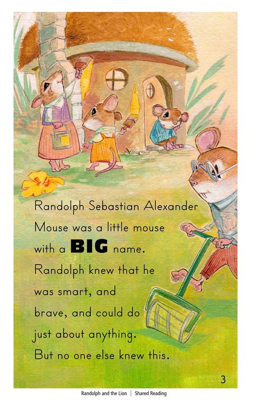 Book Preview For Randolph and the Lion Page 3