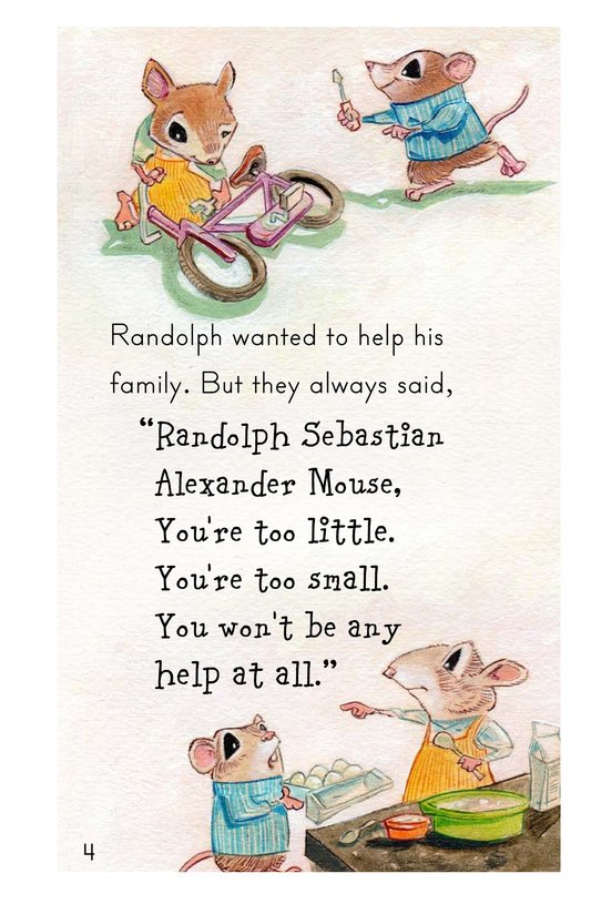 Book Preview For Randolph and the Lion Page 4