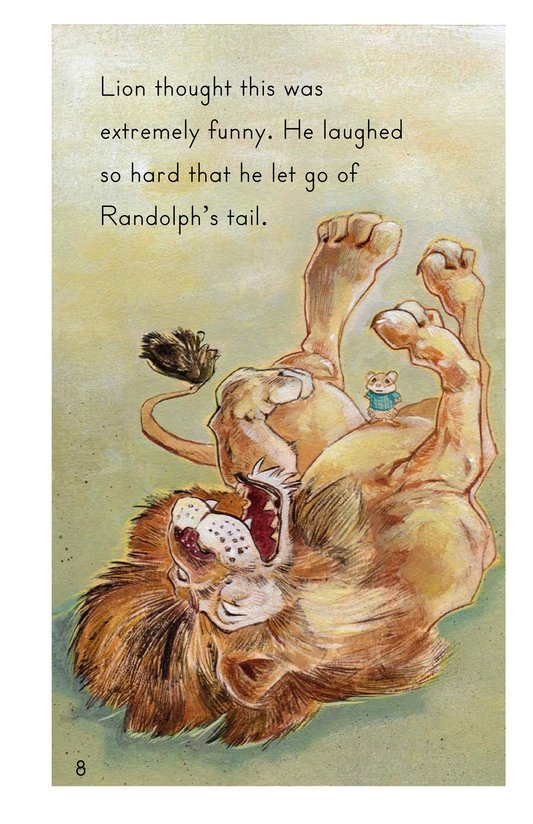 Book Preview For Randolph and the Lion Page 8