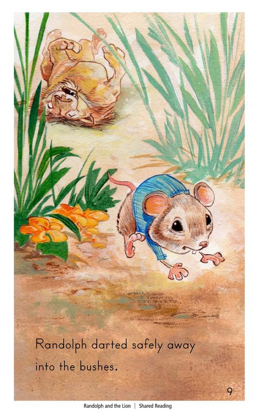 Book Preview For Randolph and the Lion Page 9
