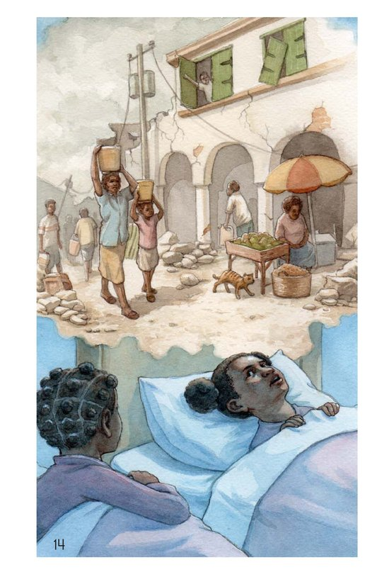 Book Preview For Haiti Is My Home Page 14