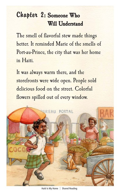Book Preview For Haiti Is My Home Page 7