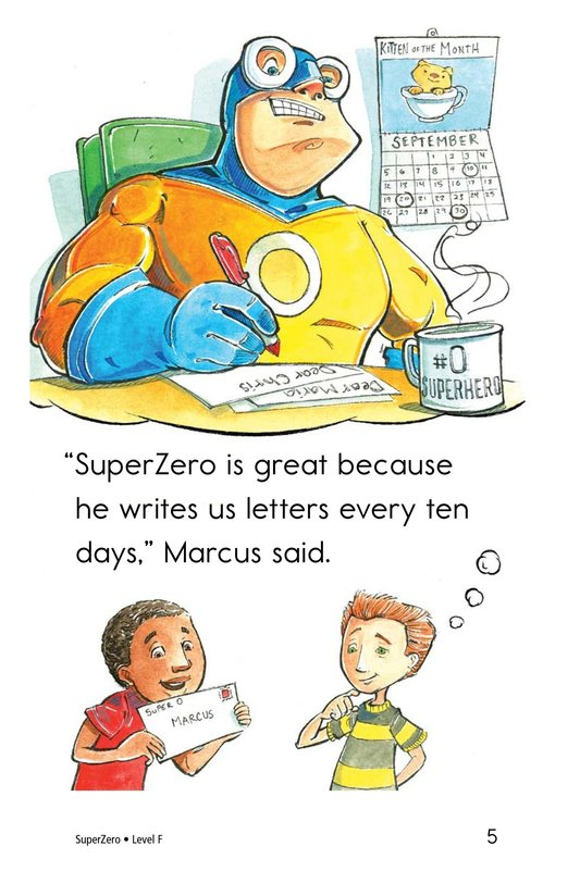 Book Preview For SuperZero Page 5