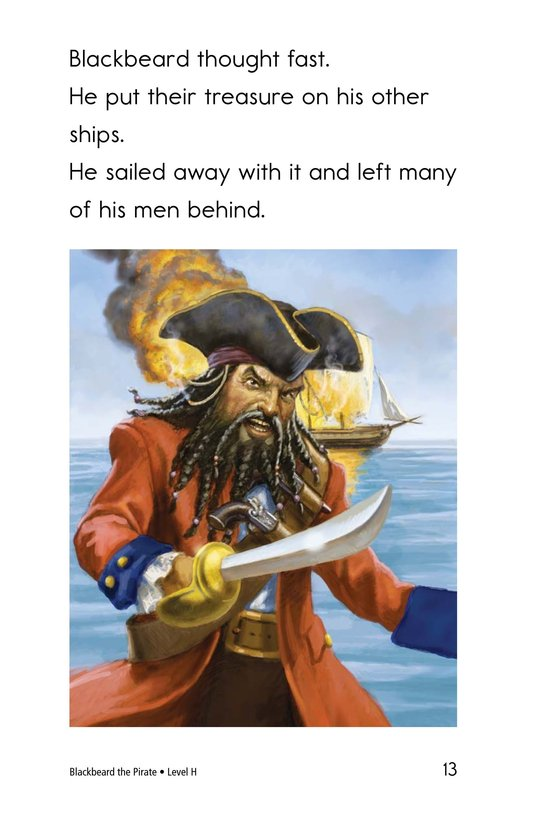 Book Preview For Blackbeard the Pirate Page 13