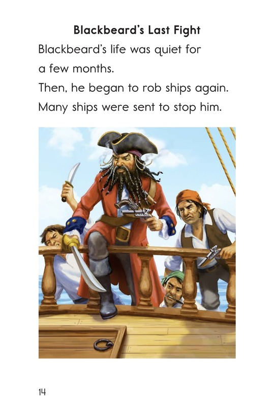 Book Preview For Blackbeard the Pirate Page 14
