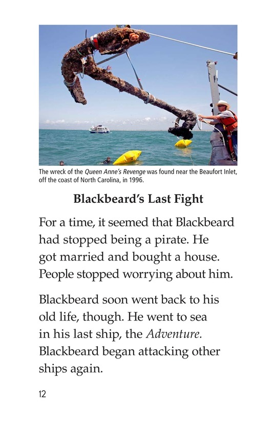 Book Preview For Blackbeard the Pirate Page 12