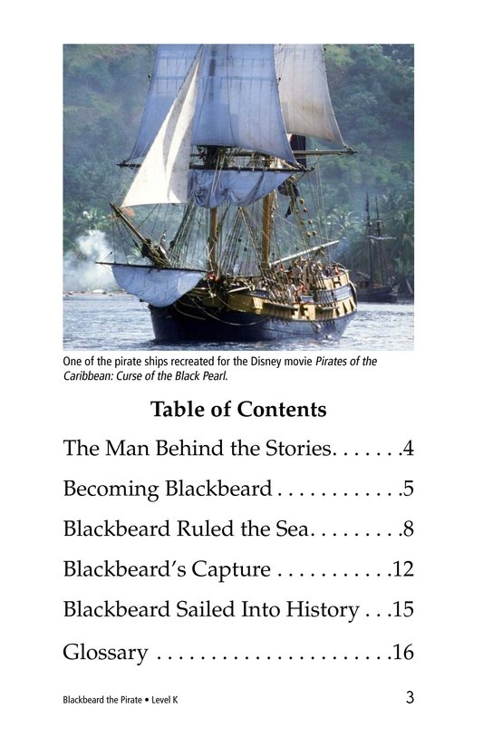 Book Preview For Blackbeard the Pirate Page 3