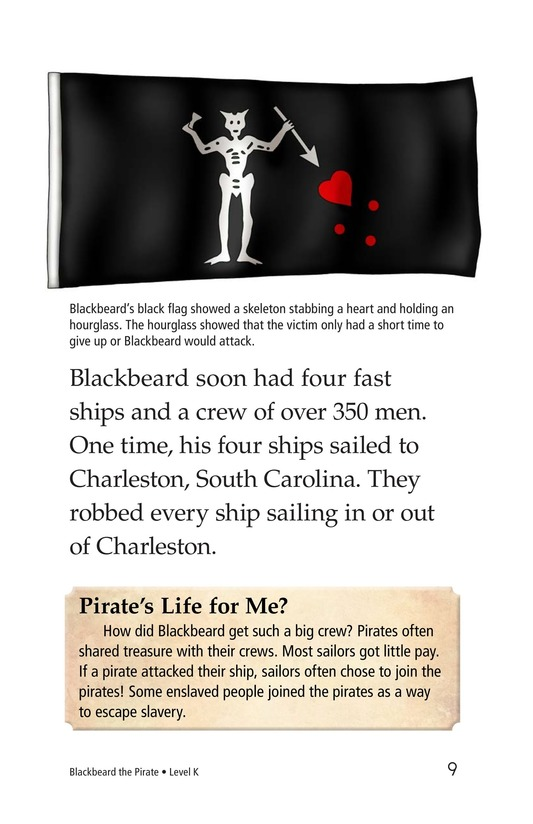 Book Preview For Blackbeard the Pirate Page 9