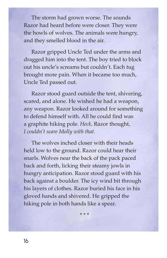 Book Preview For Razor and the Wolves Page 16