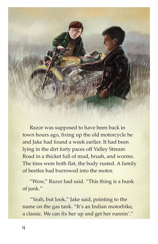 Book Preview For Razor and the Wolves Page 4
