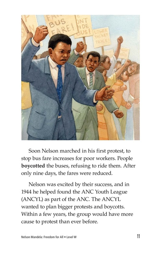 Book Preview For Nelson Mandela Page 11
