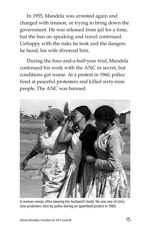 Book Preview For Nelson Mandela Page 15