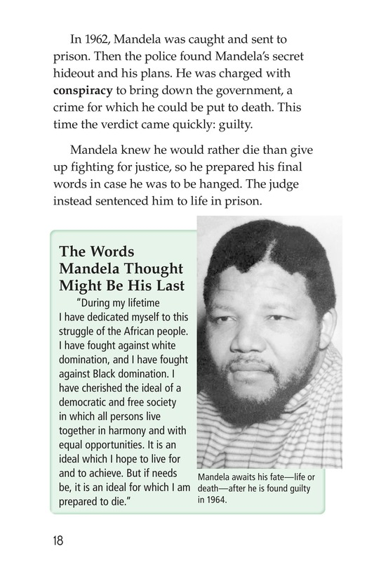 Book Preview For Nelson Mandela Page 18