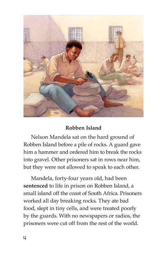 Book Preview For Nelson Mandela Page 4