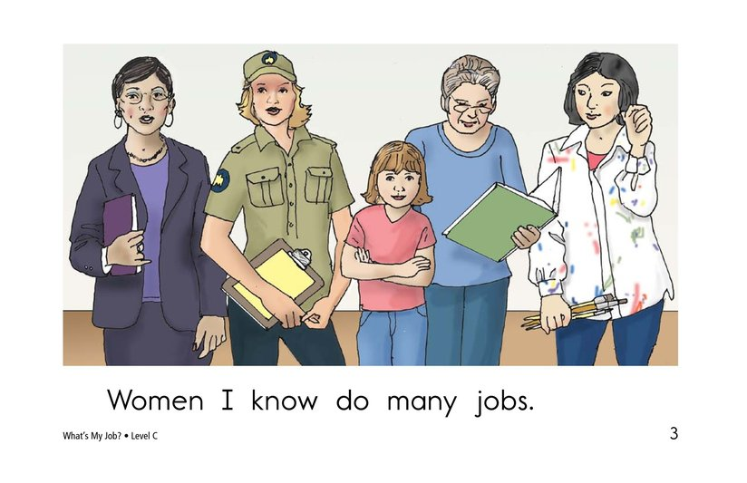 Book Preview For What's My Job? Page 3