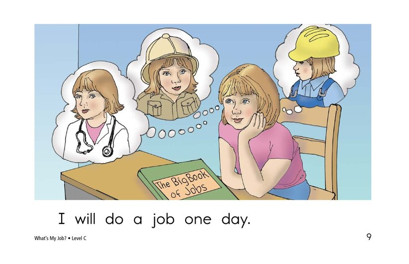 Book Preview For What's My Job? Page 9