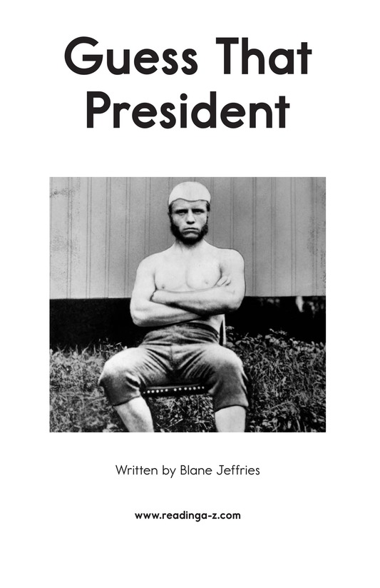Book Preview For Guess That President Page 2