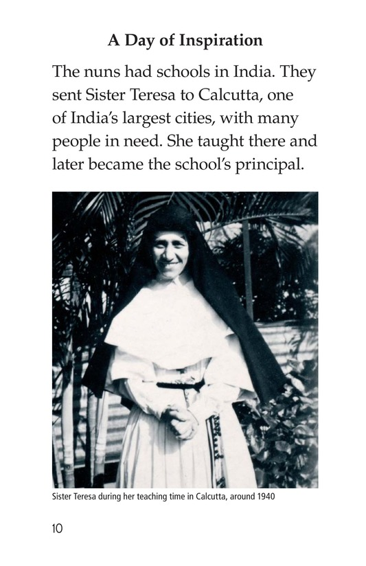 Book Preview For Mother Teresa: Mother to Many Page 10