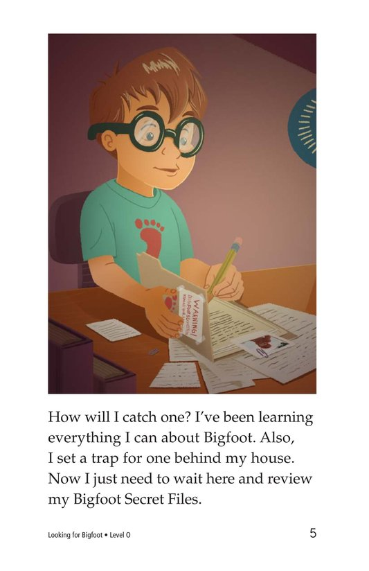 Book Preview For Looking for Bigfoot Page 5
