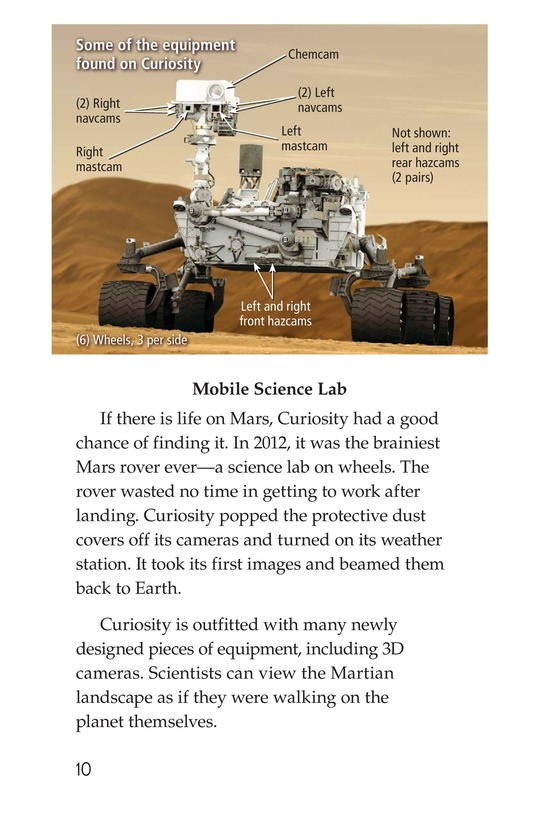 Book Preview For Curiosity on Mars Page 10
