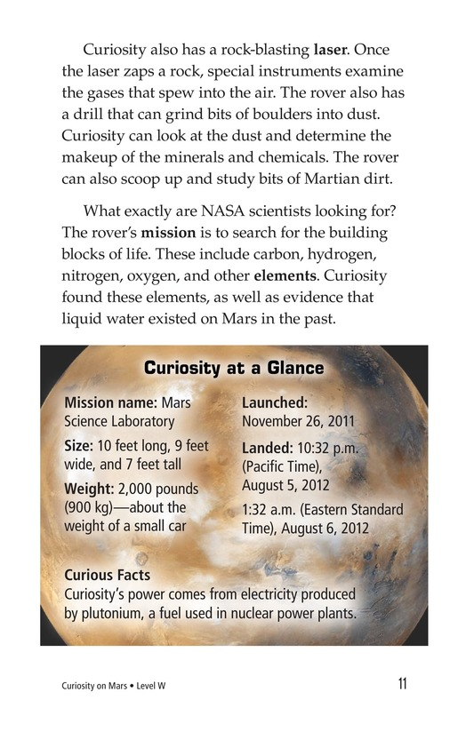 Book Preview For Curiosity on Mars Page 11