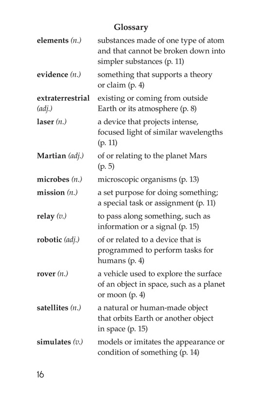 Book Preview For Curiosity on Mars Page 16