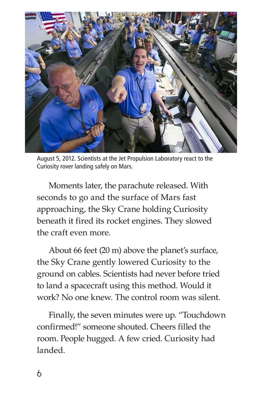 Book Preview For Curiosity on Mars Page 6