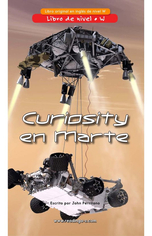 Book Preview For Curiosity on Mars Page 1