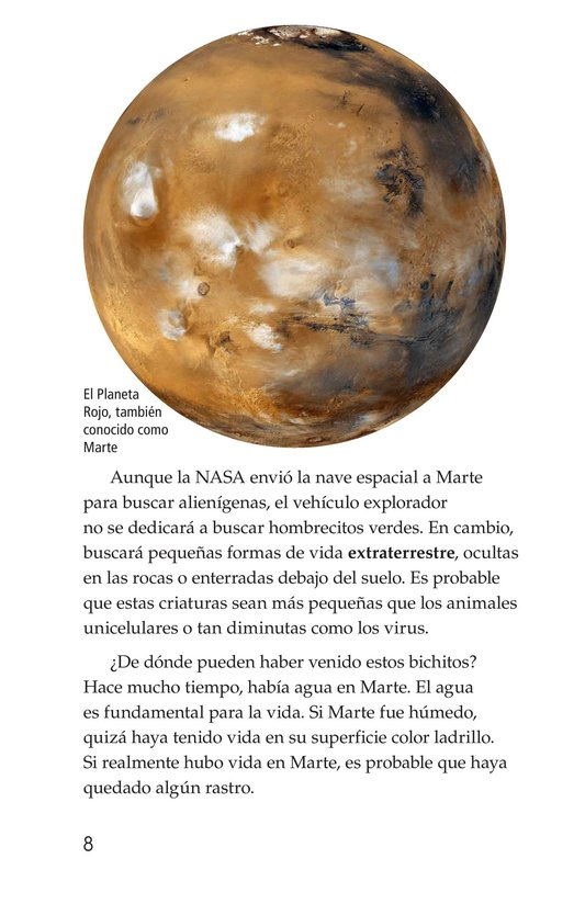 Book Preview For Curiosity on Mars Page 8